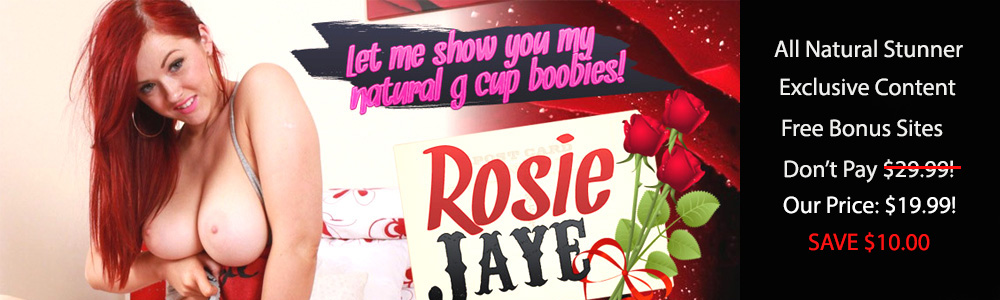 Rosie Jaye Discount: Was $29.99, Now Only $19.99 Month, Save $10!